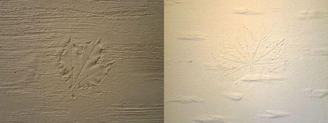 珪藻土壁の造作サンプル