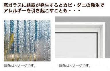 窓結露のイメージ
